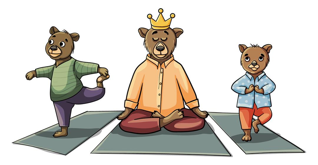 Ein bisschen Yoga schadet nie!