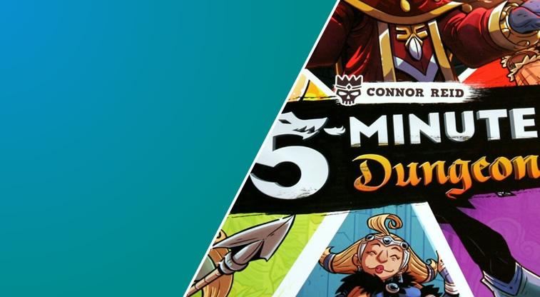 Spiel der Woche: 5 Minute Dungeon